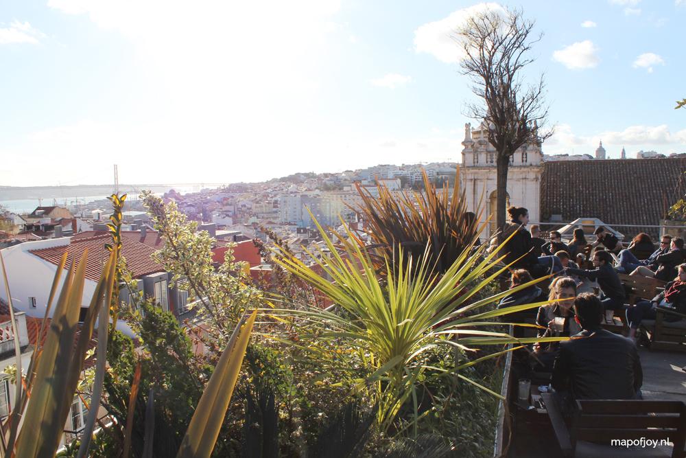 Park Bar, food hot spot Lisbon - Map of Joy