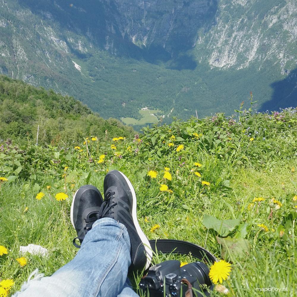 Slovenia Vogel Mountain, Julian Alps - Map of Joy