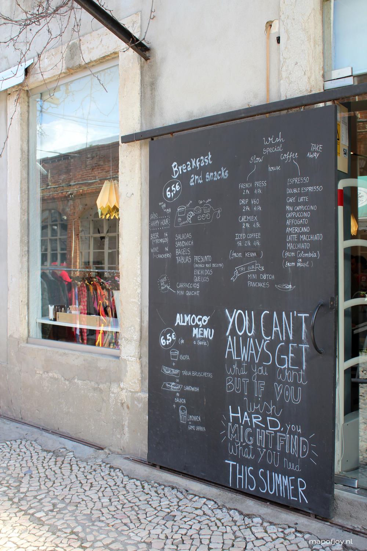 Wish, food hot spot Lisbon - Map of Joy