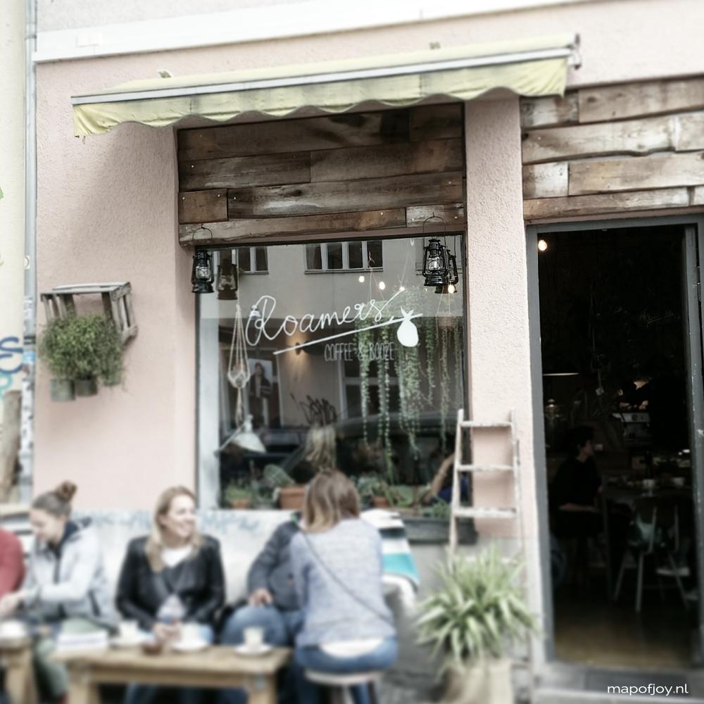 Roamers Café, Kreuzberg, Berlin - Map of Joy