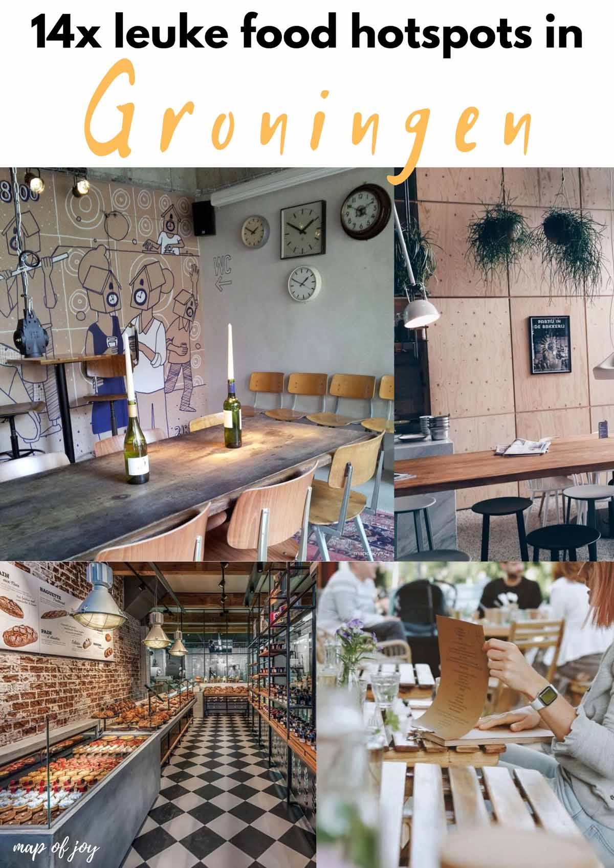 14x de leukste food hotspots in Groningen - Map of Joy