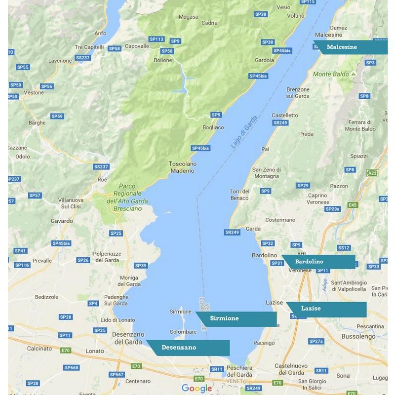 De 5 meest leuke dorpjes aan het Gardameer, Italië