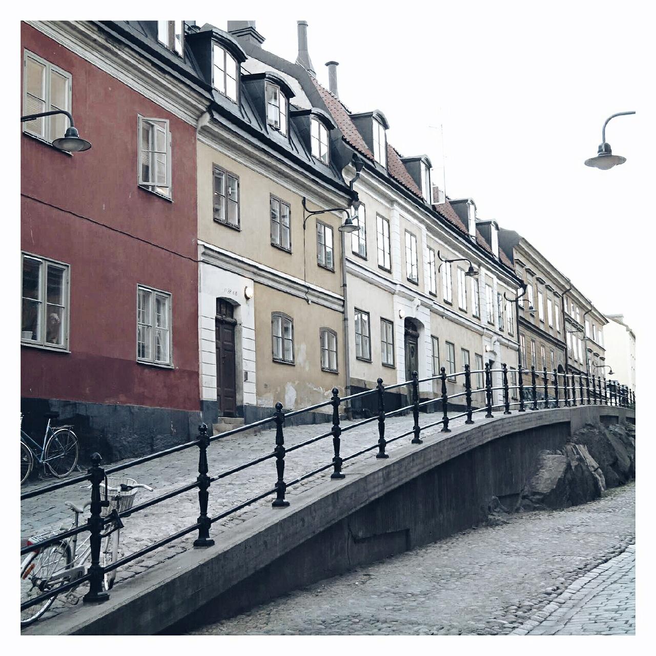 Travel report Stockholm - Map of Joy