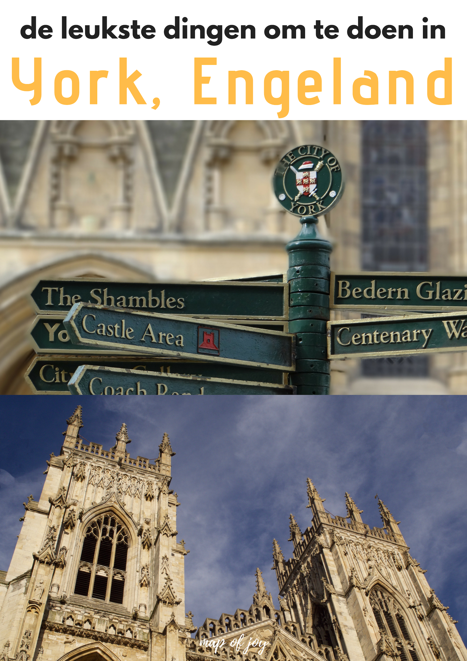 De leukste dingen om te doen in York, Engeland - Map of Joy