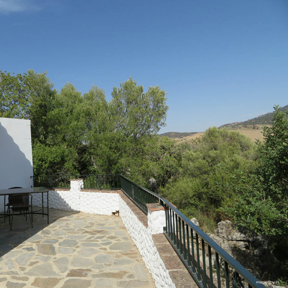 Andalusia, Spain, Casa Rurales Los Algarrobales - Map of Joy