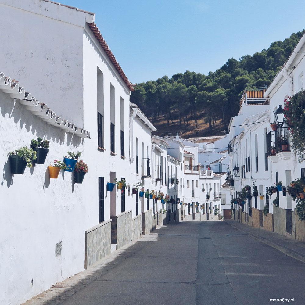 El Gastor, Andalusia, Spain - Map of Joy
