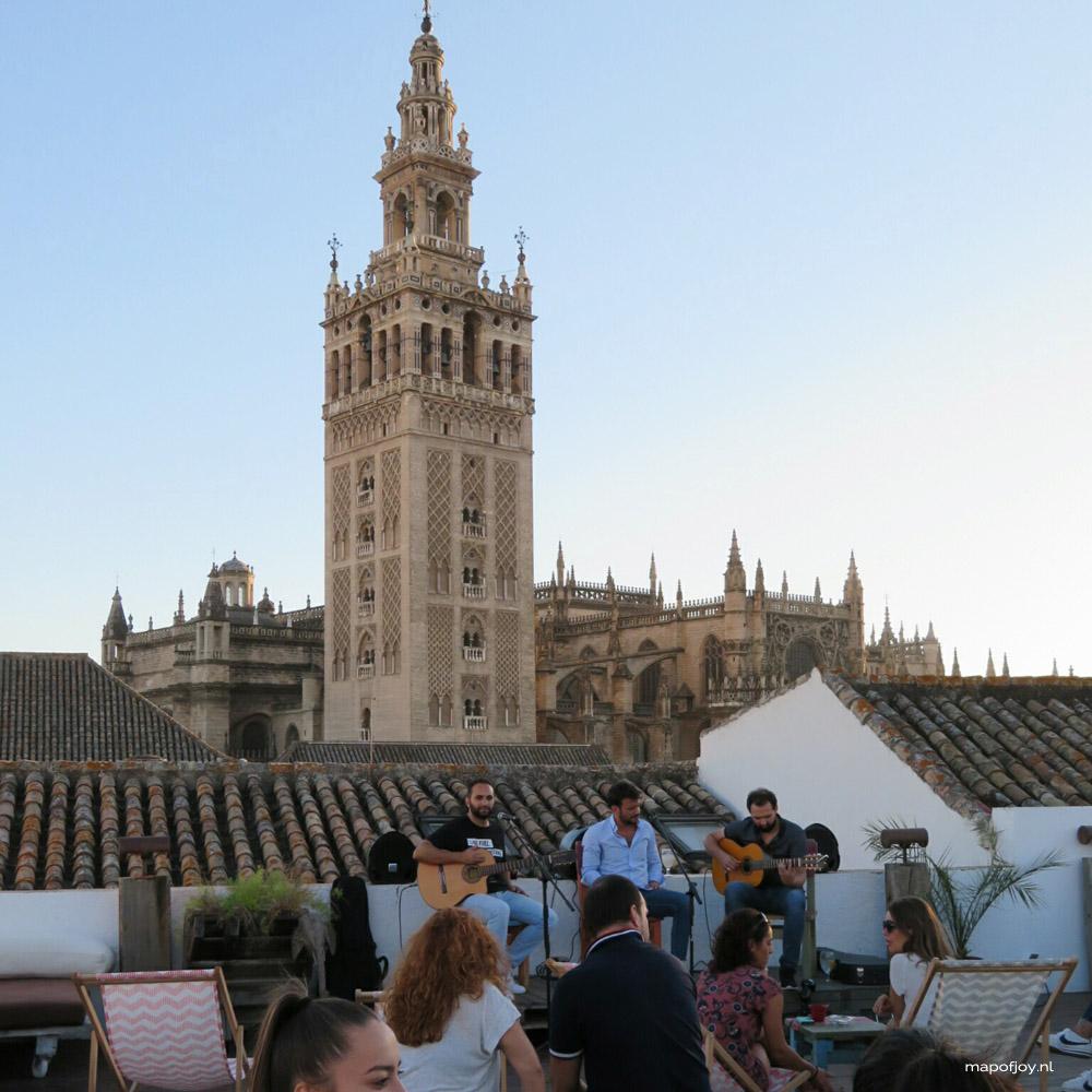 Fontecruz, rooftop bar Sevilla - Map of Joy