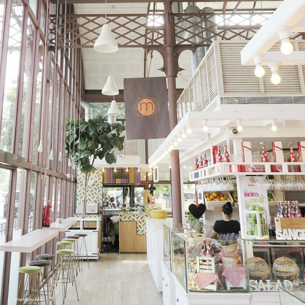 Mercado Barranco, hotspot, Sevilla - Map of Joy
