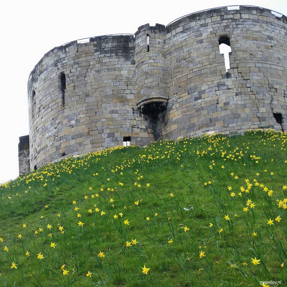 Clifford's Tower, York - Map of Joy