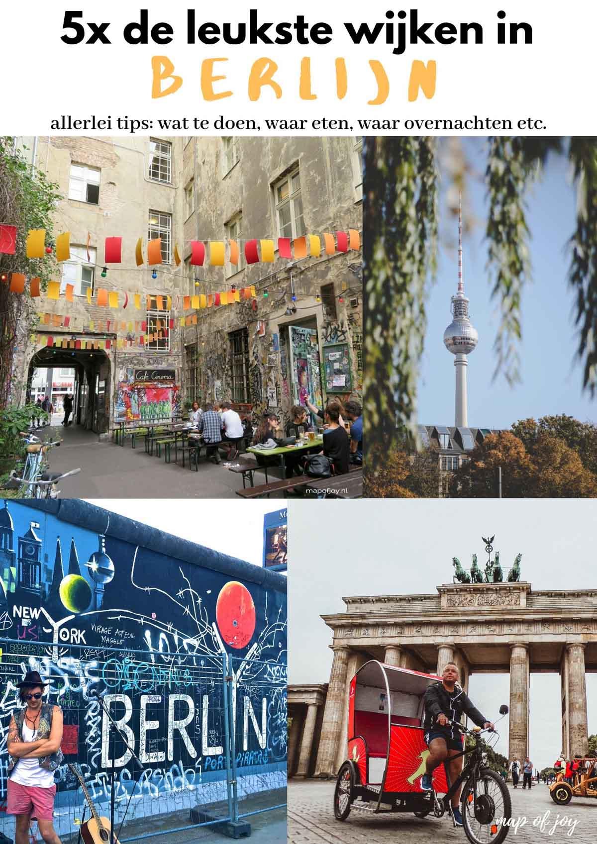 5x de leukste wijken in Berlijn - Map of Joy