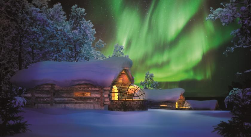 Kakslauttanen Igloo West-Village Lapland, beste plekken om het Noorderlicht te zien