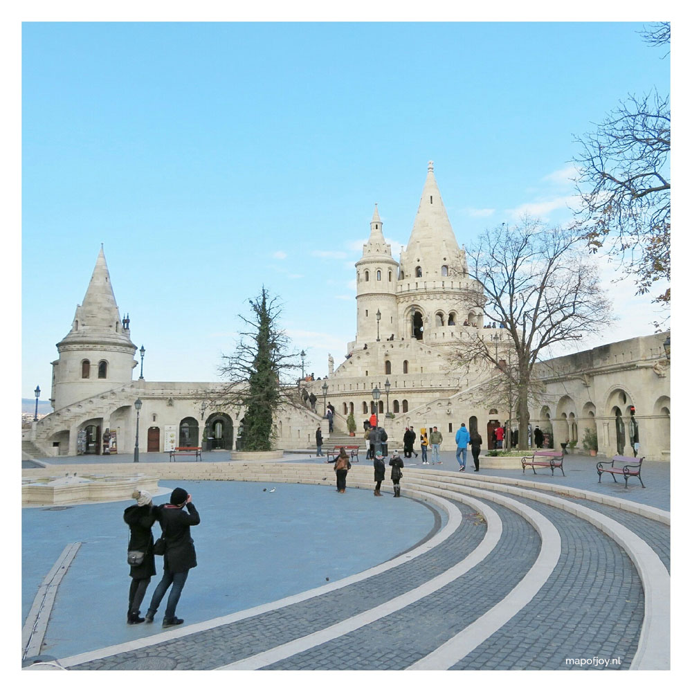 FIshermans Bastion in Budapest - Map of Joy