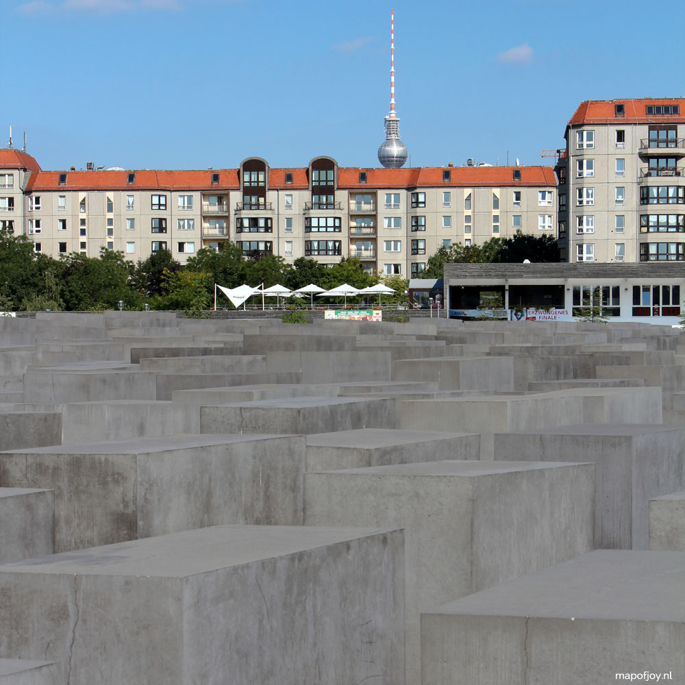 Holocaust monument, Mitte, Berlin, 5x leukste wijken in Berlijn - Map of Joy