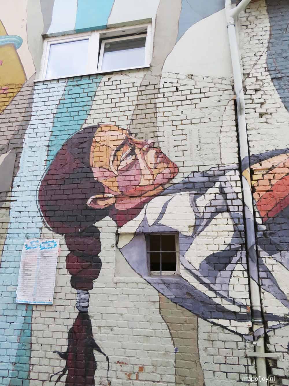 RAW-Gelände, street art Berlin - Map of Joy
