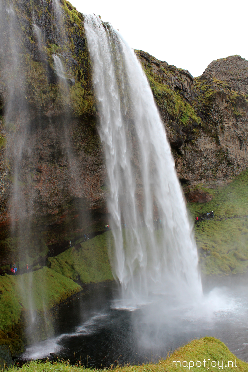 Seljalandsfoss waterval, Ijsland - Map of Joy