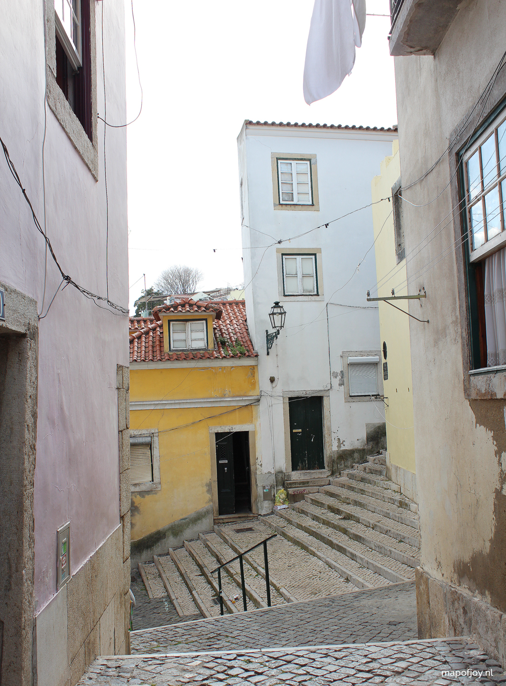 Alfama, Lissabon - Map of Joy