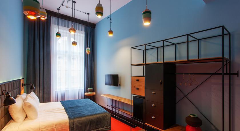 bijzonder, goedkoop hotel in Boedapest - Map of Joy