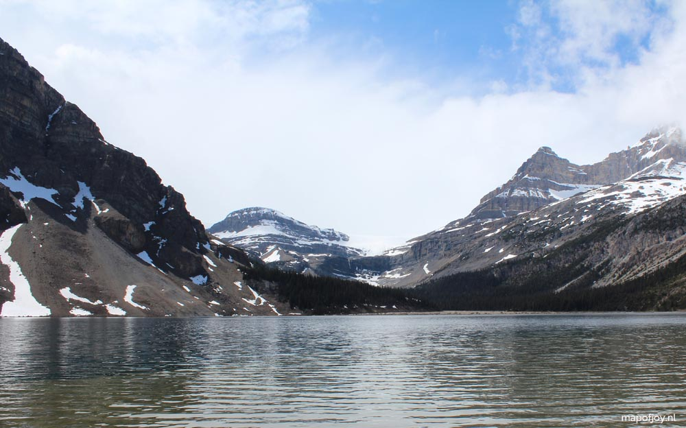 Bow Lake, Alberta, Canada - Map of Joy