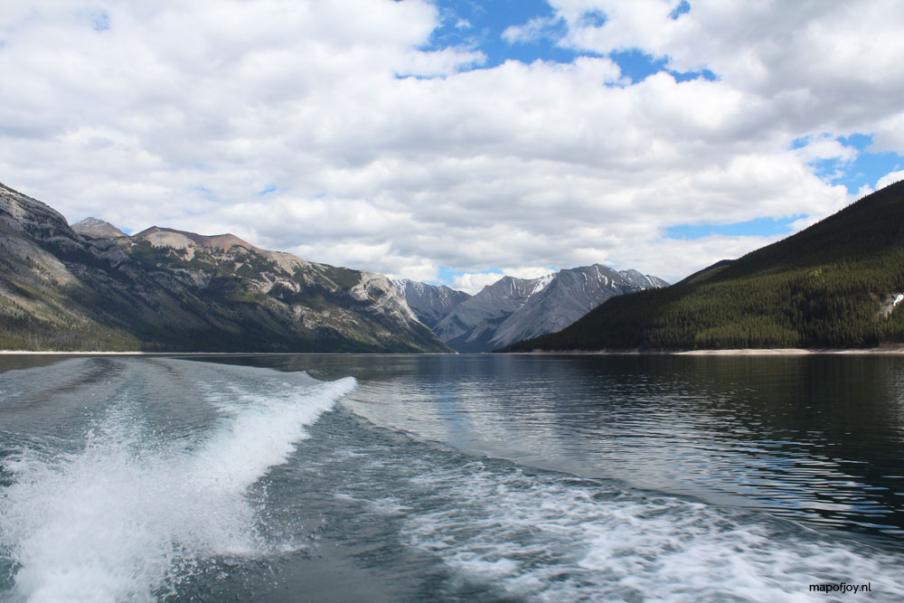 Lake Minnewanka, Alberta, Canada - Map of Joy