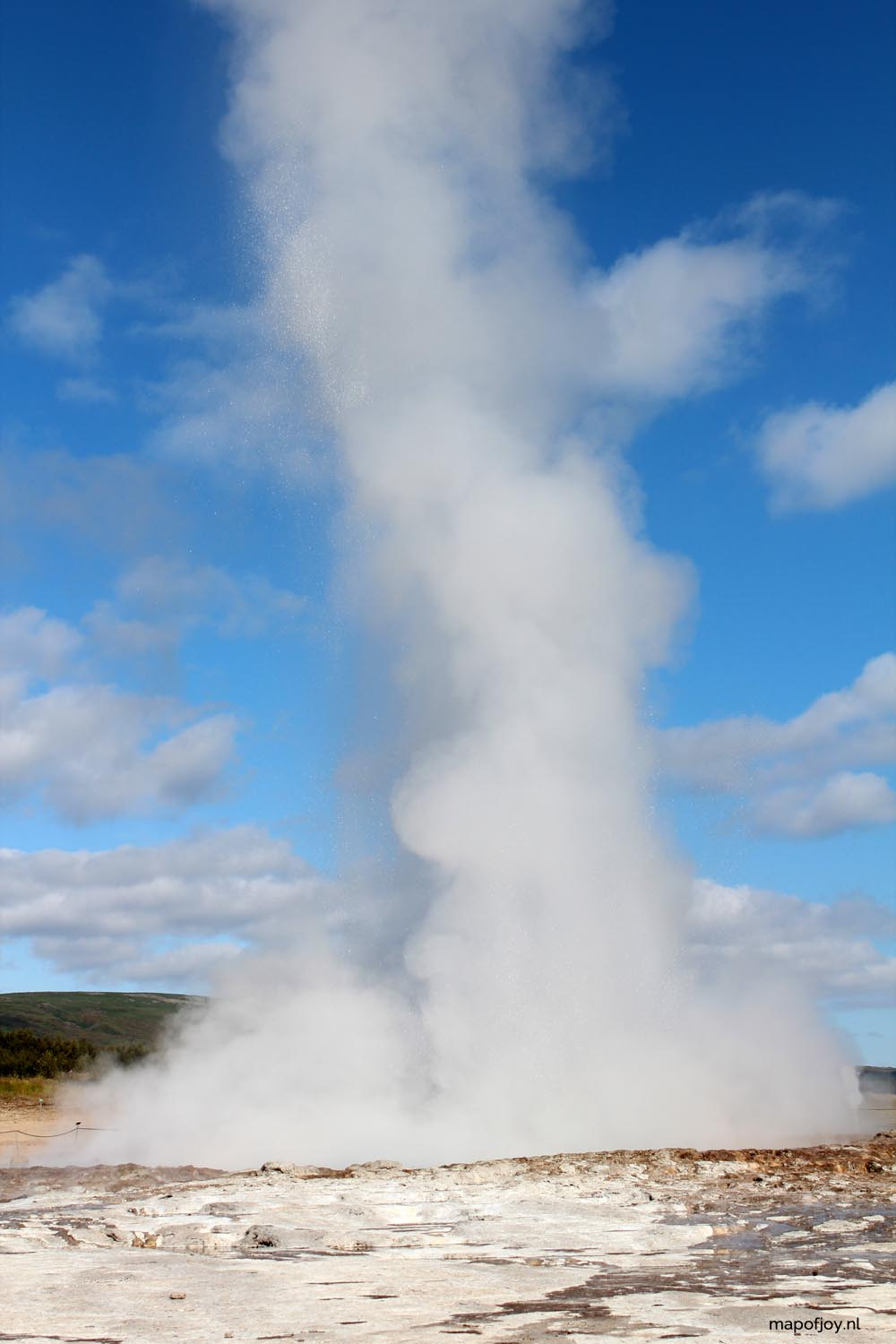 Geysir, Ijsland - Map of Joy