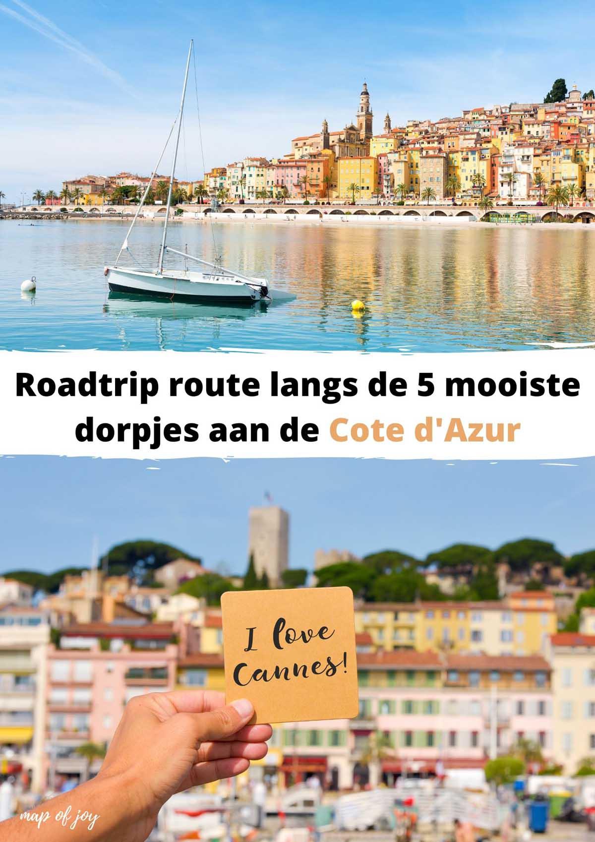 Roadtrip route langs de 5 mooiste dorpjes aan de Cote d'Azur