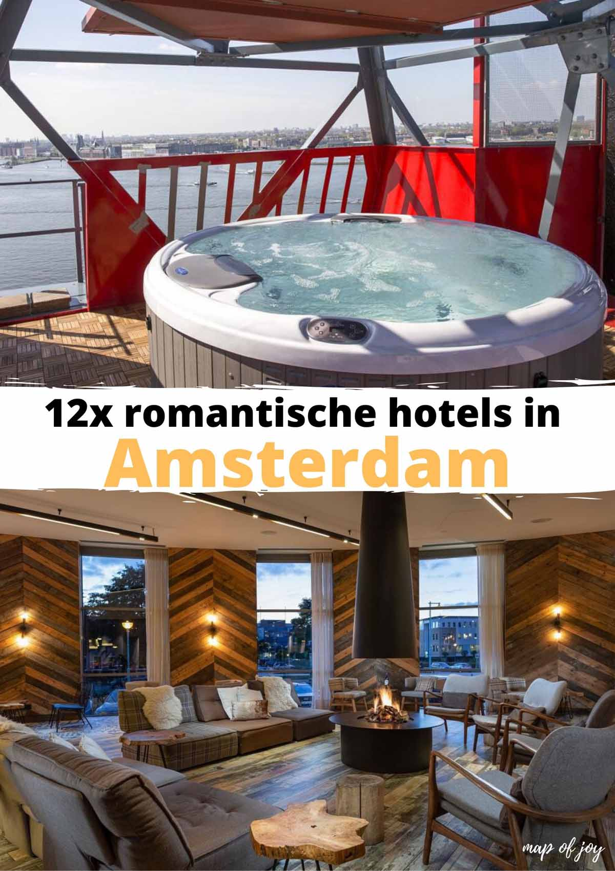 12x romantische hotels in Amsterdam