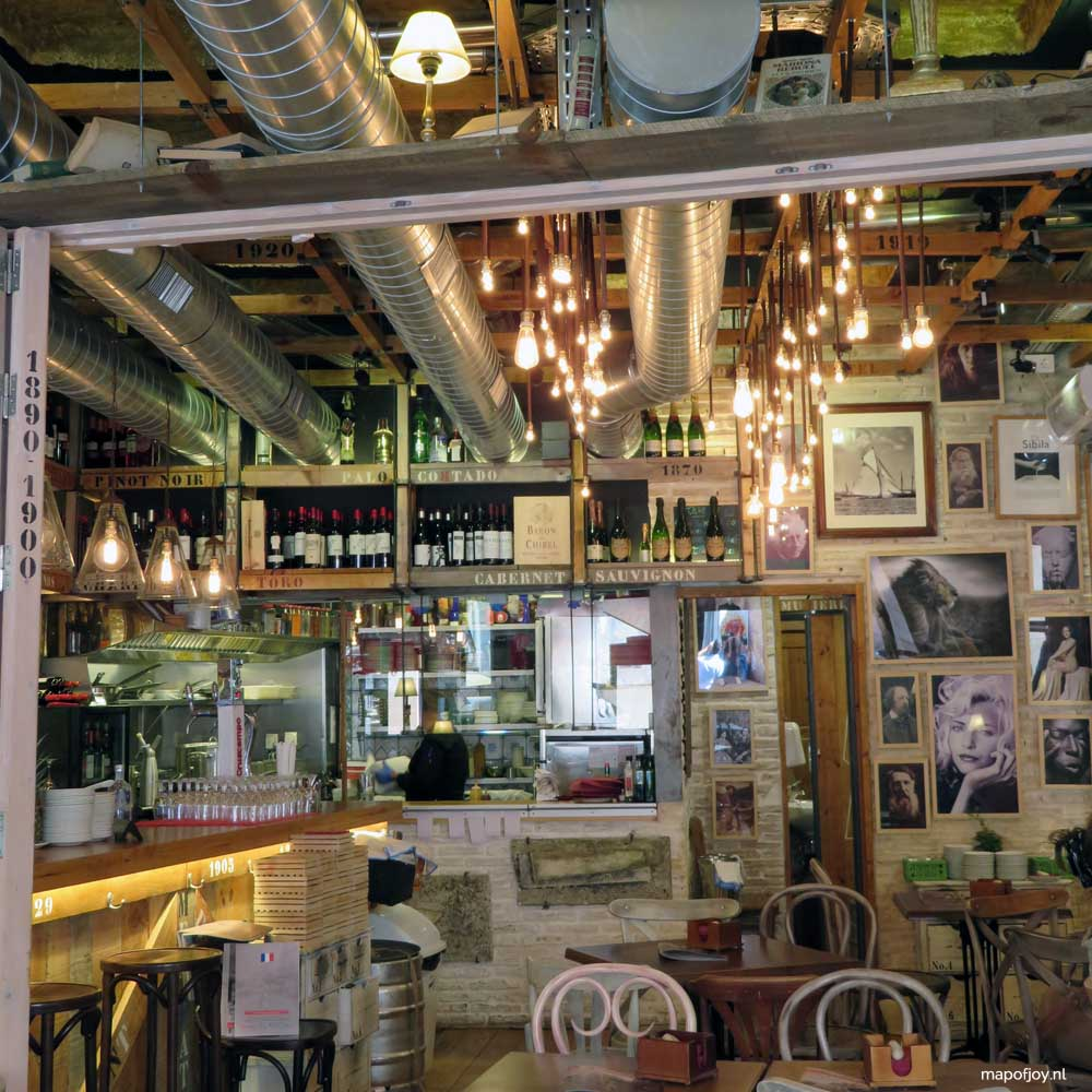 Bar Augustin food hotspot Sevilla - Map of Joy