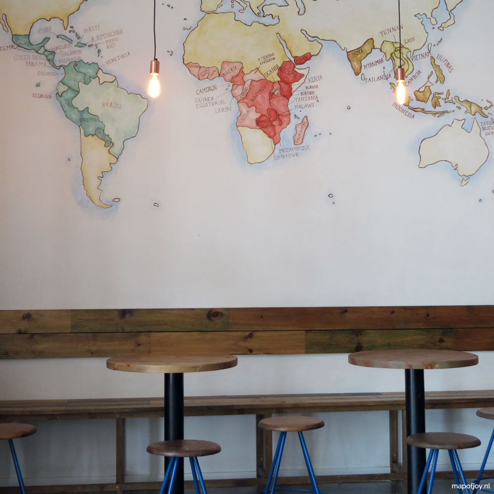 Torch Coffee Roasters food hotspot Sevilla - Map of Joy