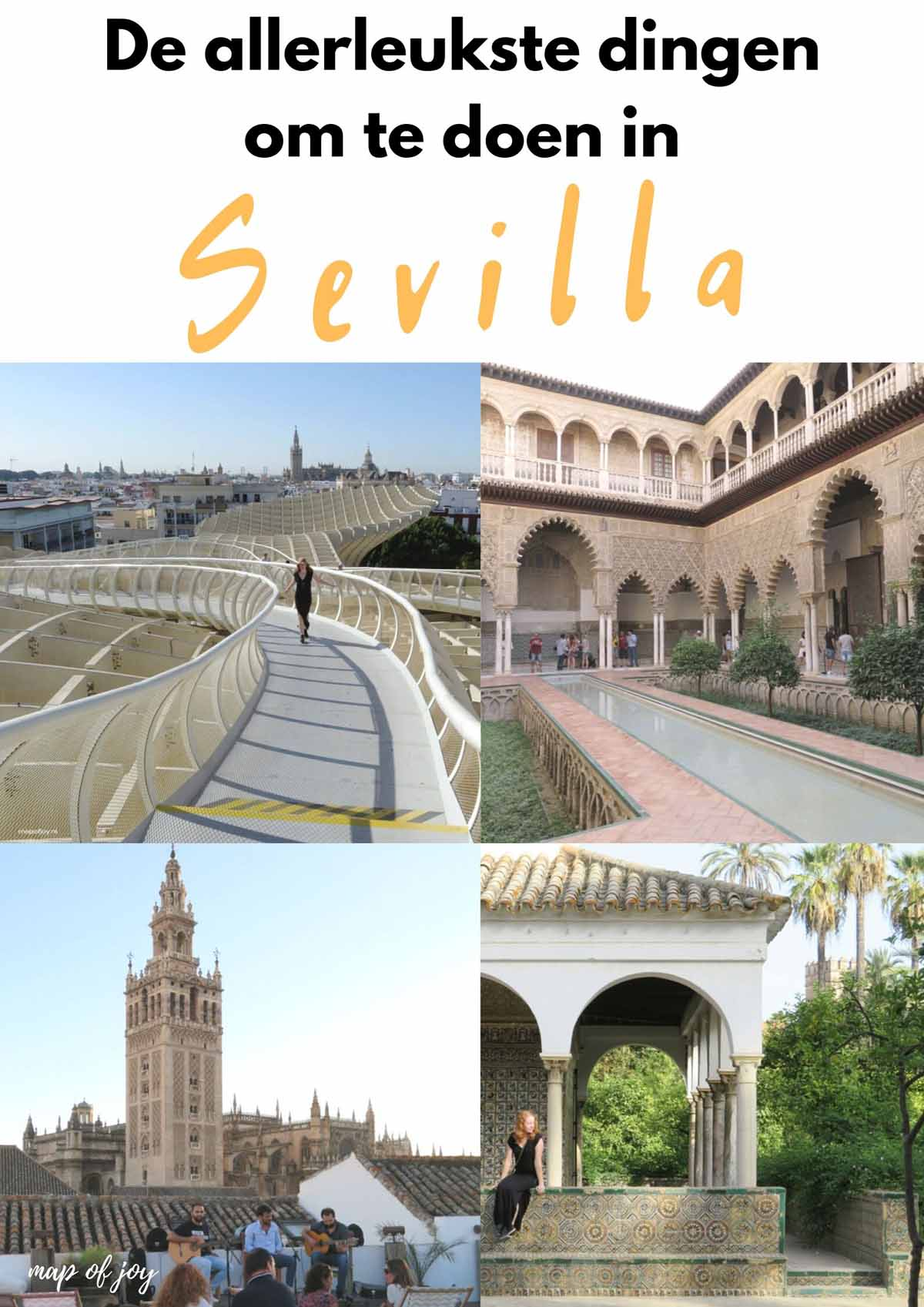 De allerleukste dingen om te doen in Sevilla - Map of Joy
