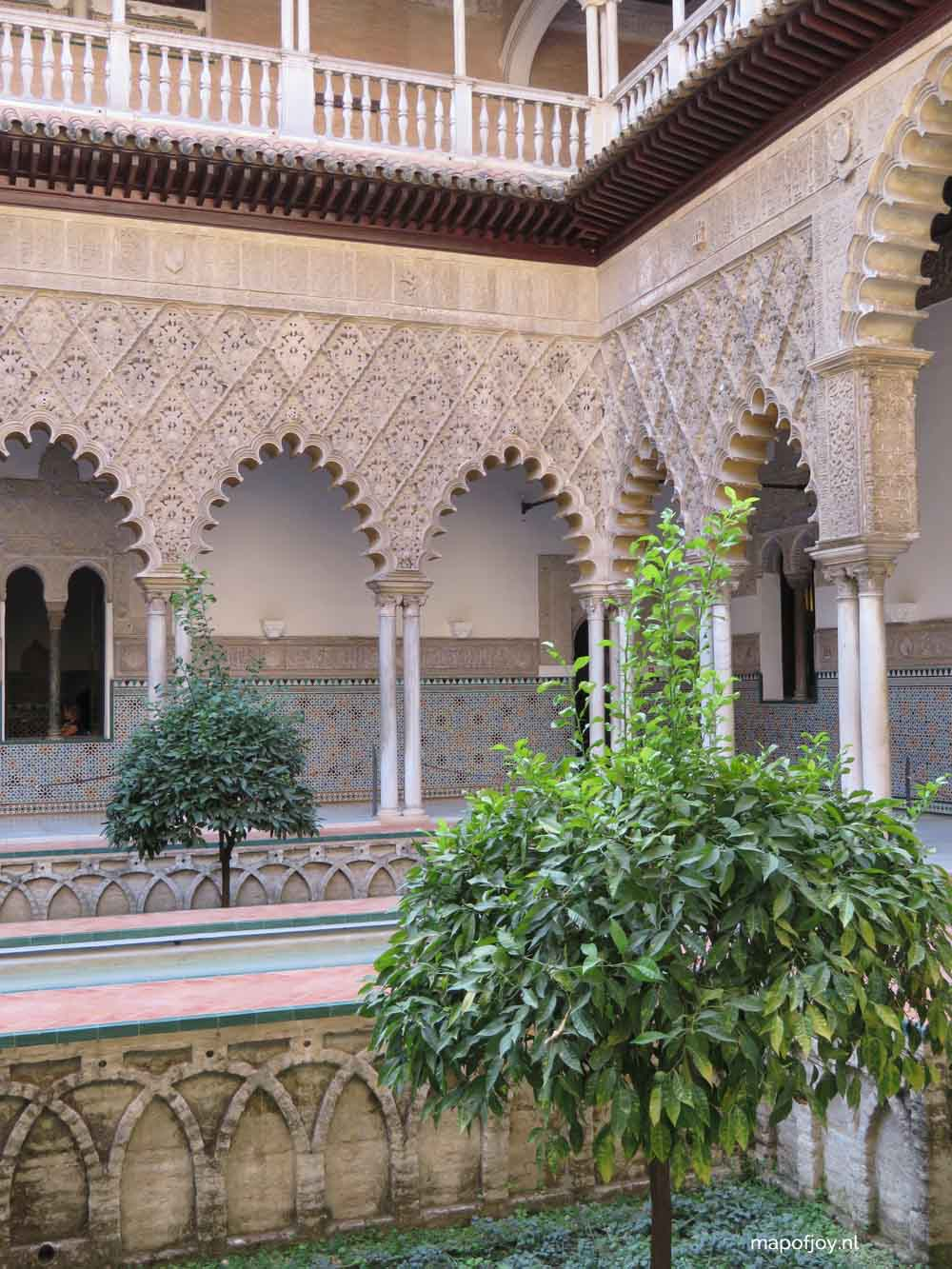 Real Alcazar, Sevilla - Map of Joy
