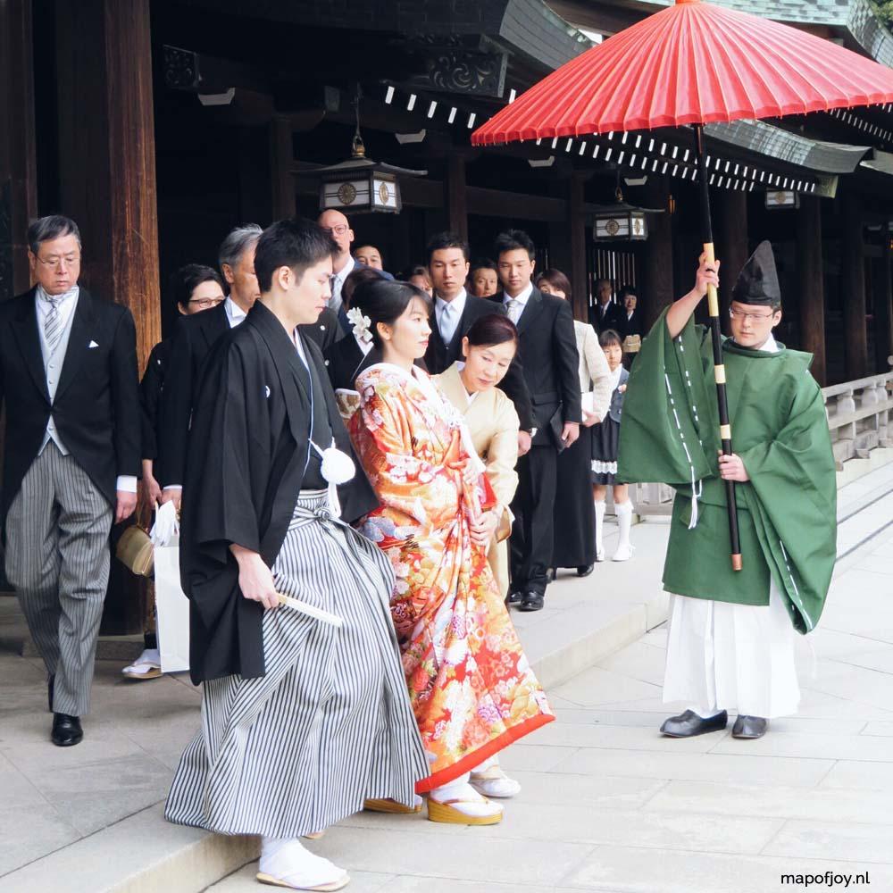 Traditional Japanese wedding - Map of Joy