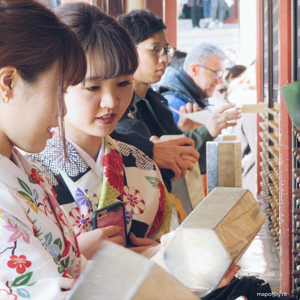 Asakusa, Senso-Ji, Tokyo, Japan - Map of Joy