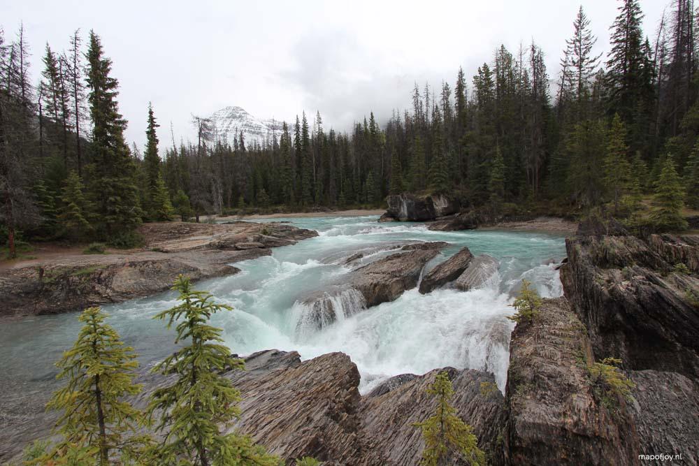 Natural Bridge, Yoho NP, Canada - Map of Joy