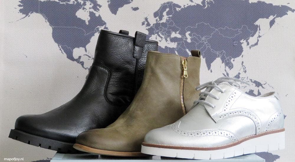 Handige, trendy schoenen voor mee op reis - Map of Joy