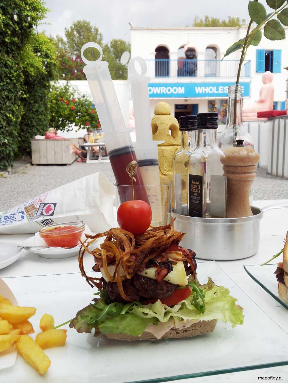 Sluiz, Ibiza food hotspot - Map of Joy