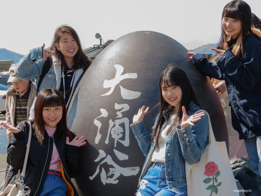 Owakudani, Hakone, Japan - Map of Joy