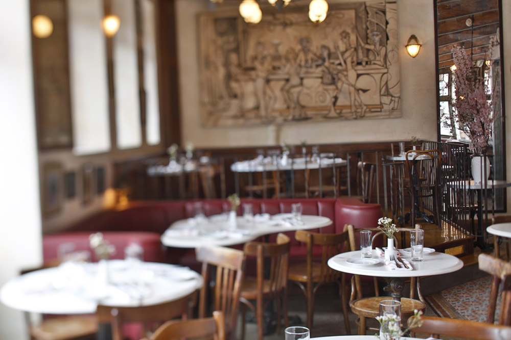 Brasserie Witlof, restaurant Williamsburg, New York - Map of Joy