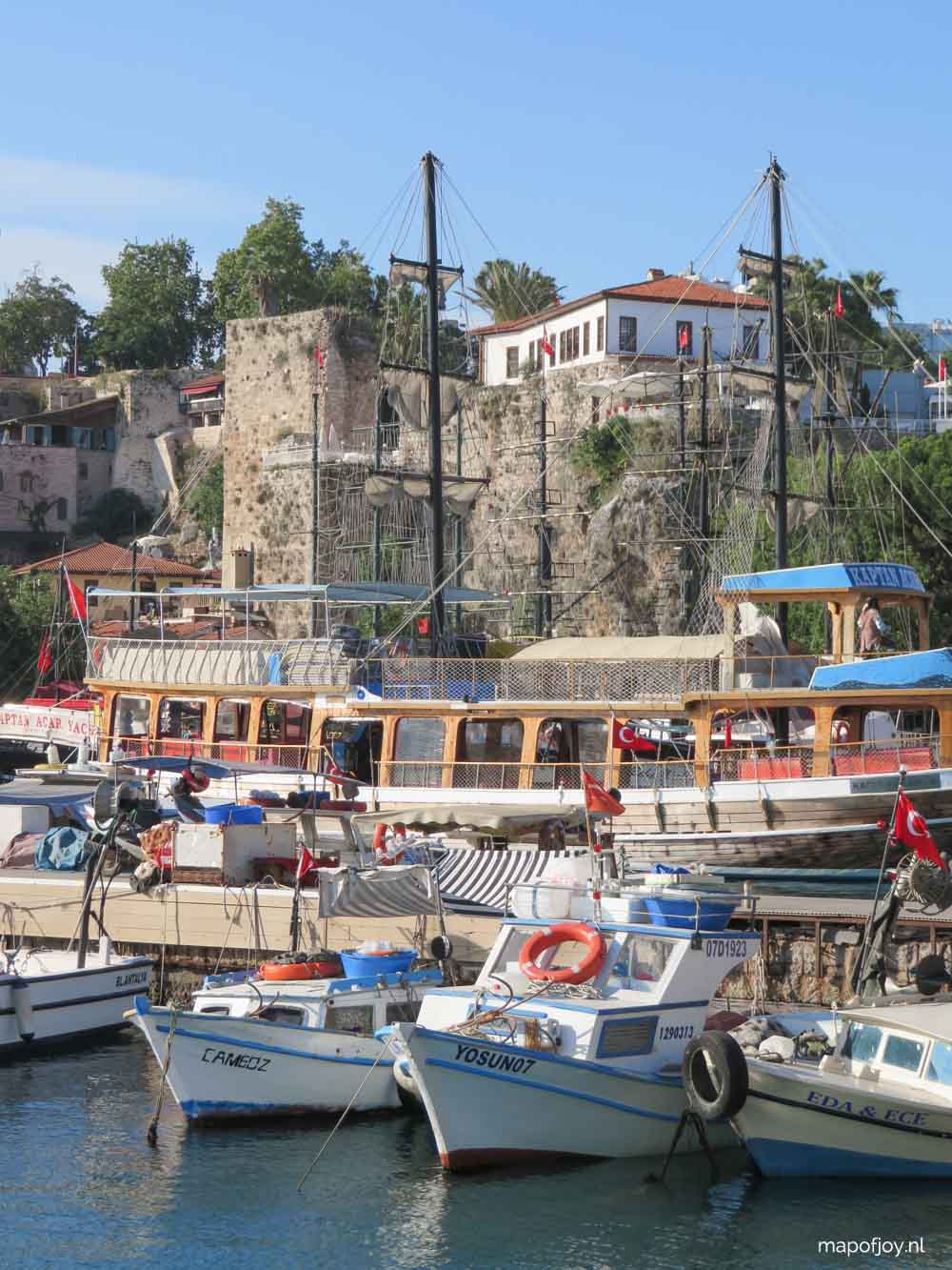 Oude Haven, Kaleici, Antalya