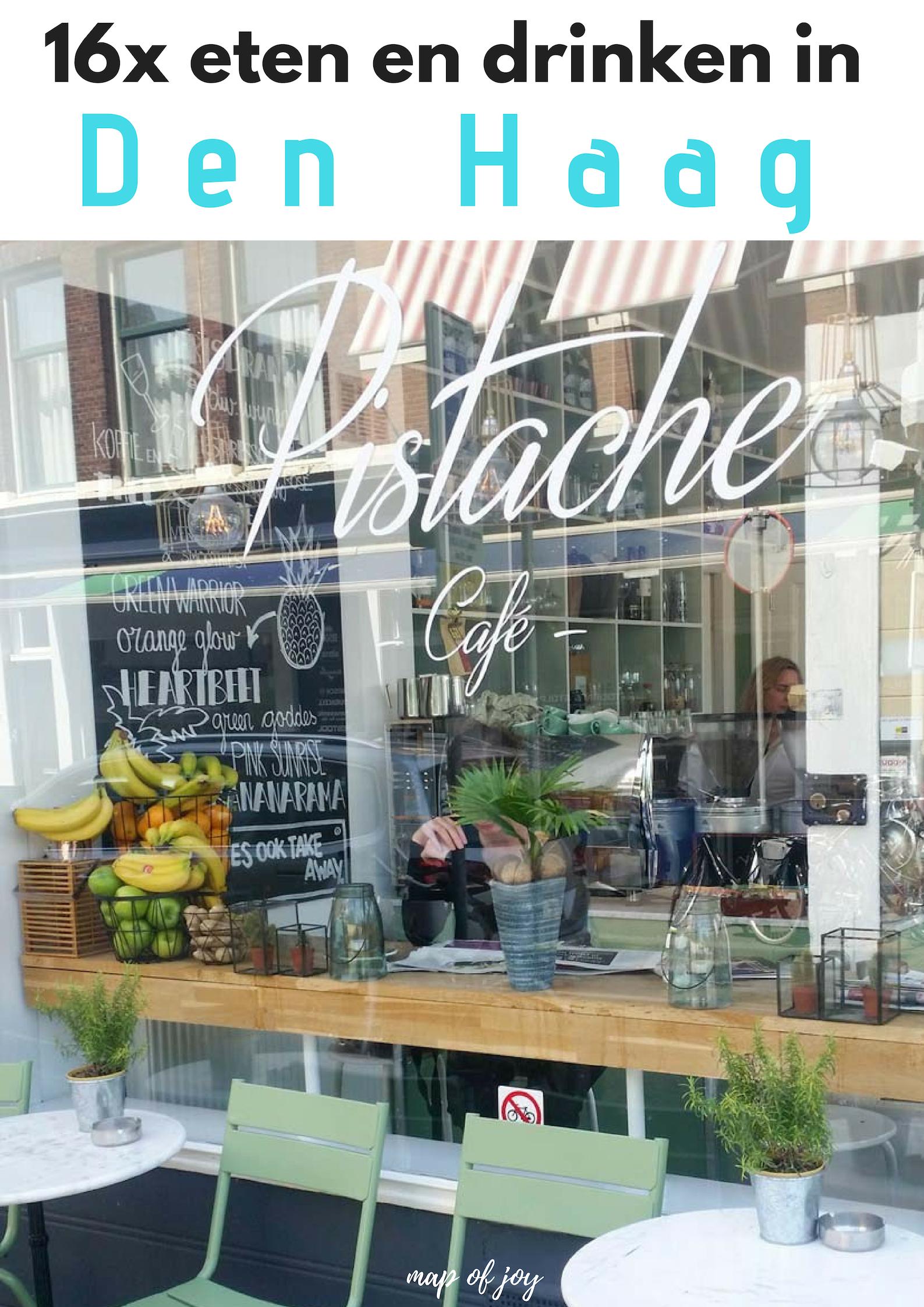 16x eten en drinken in Den Haag - Map of Joy