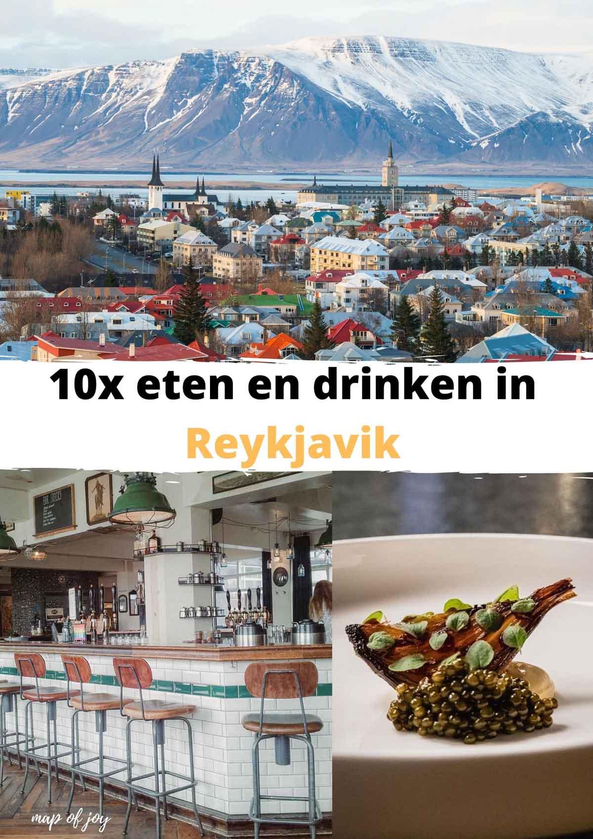 10x de leukste plekken om te eten en drinken in Reykjavik