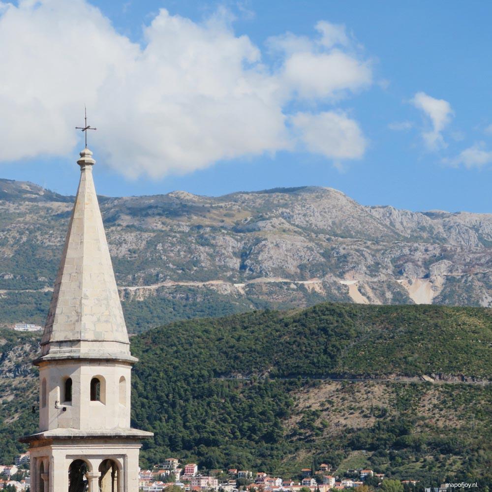 Budva, Montenegro - Map of Joy