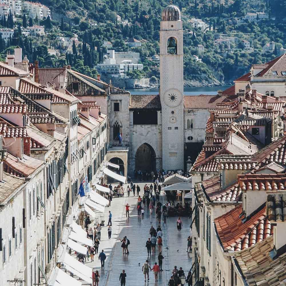 Stradun, Dubrovnik - Map of Joy