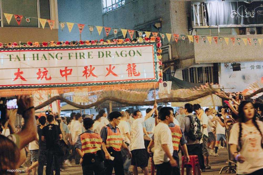 Fire Dragon Dance, Hong Kong - Map of Joy