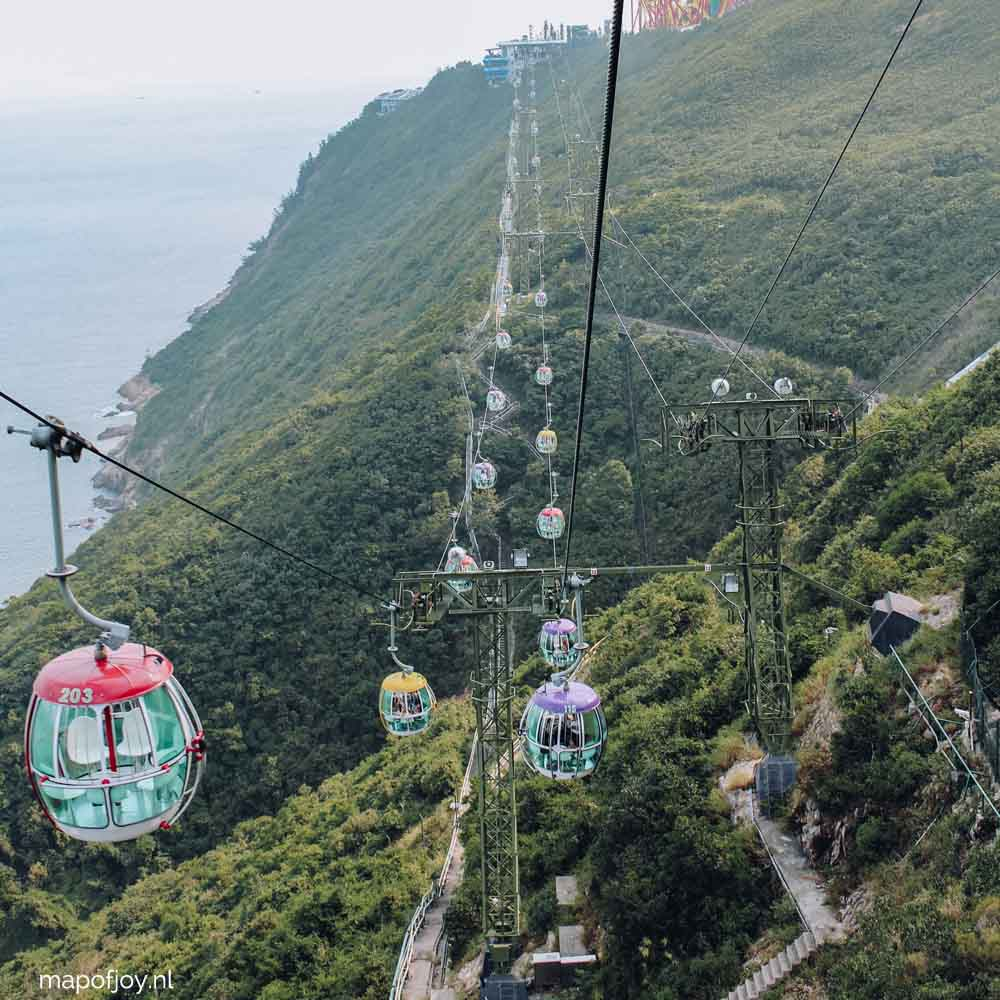 Ocean Park, cable car, Hong Kong - Map of Joy