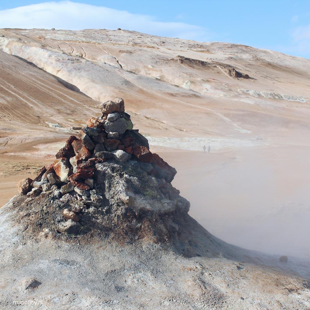 Namafjall, IJsland - Map of Joy