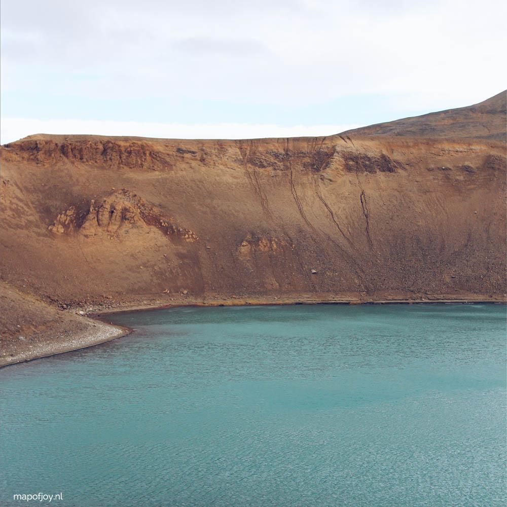 Viti Crater, Iceland - Map of Joy