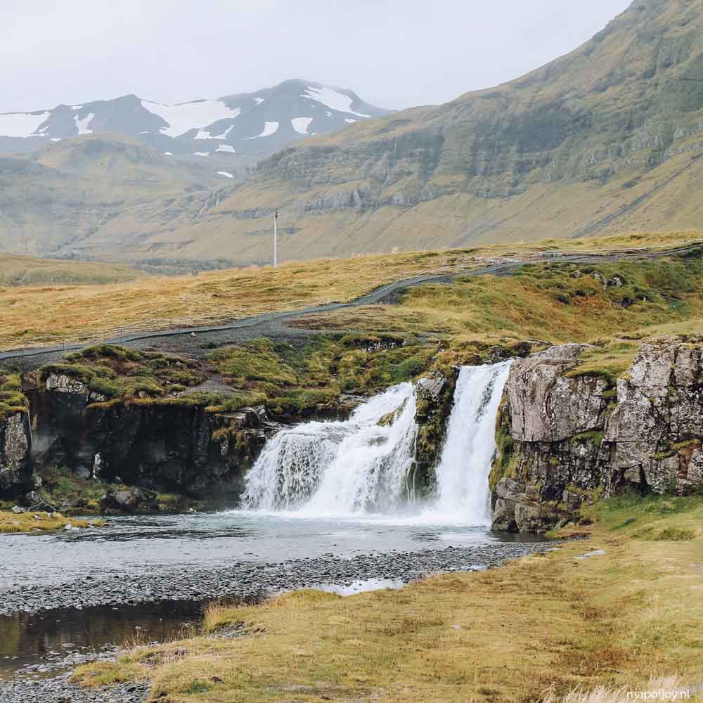 Kirkjufellfoss, Snaefellsnes, Iceland - Map of Joy