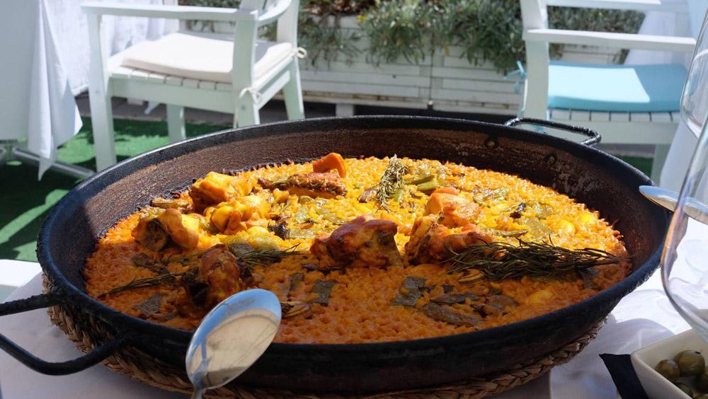Authentieke paella eten in Valencia - Map of Joy