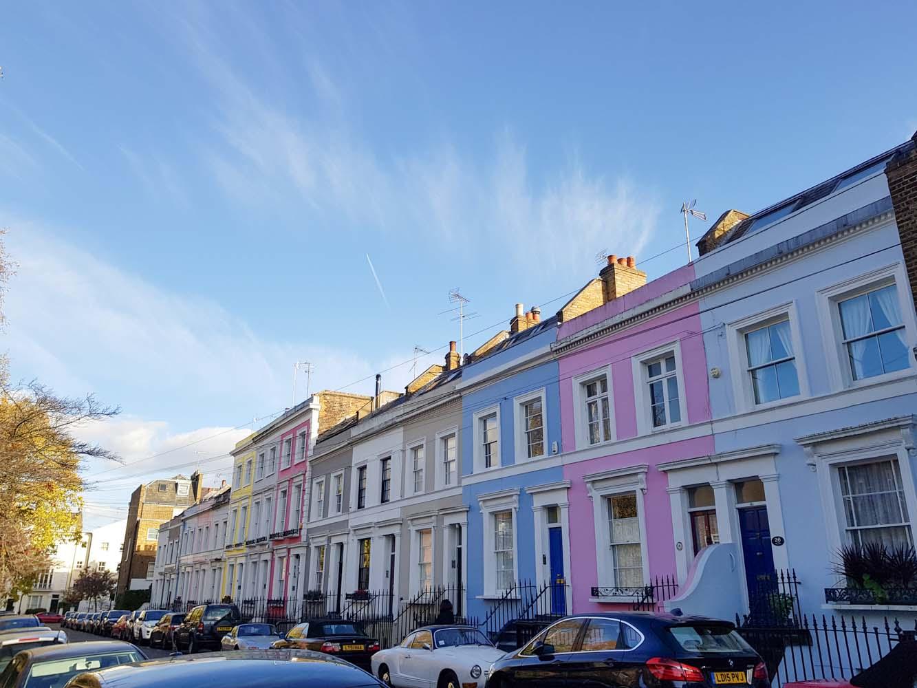 Notting Hill, Londen - Map of Joy