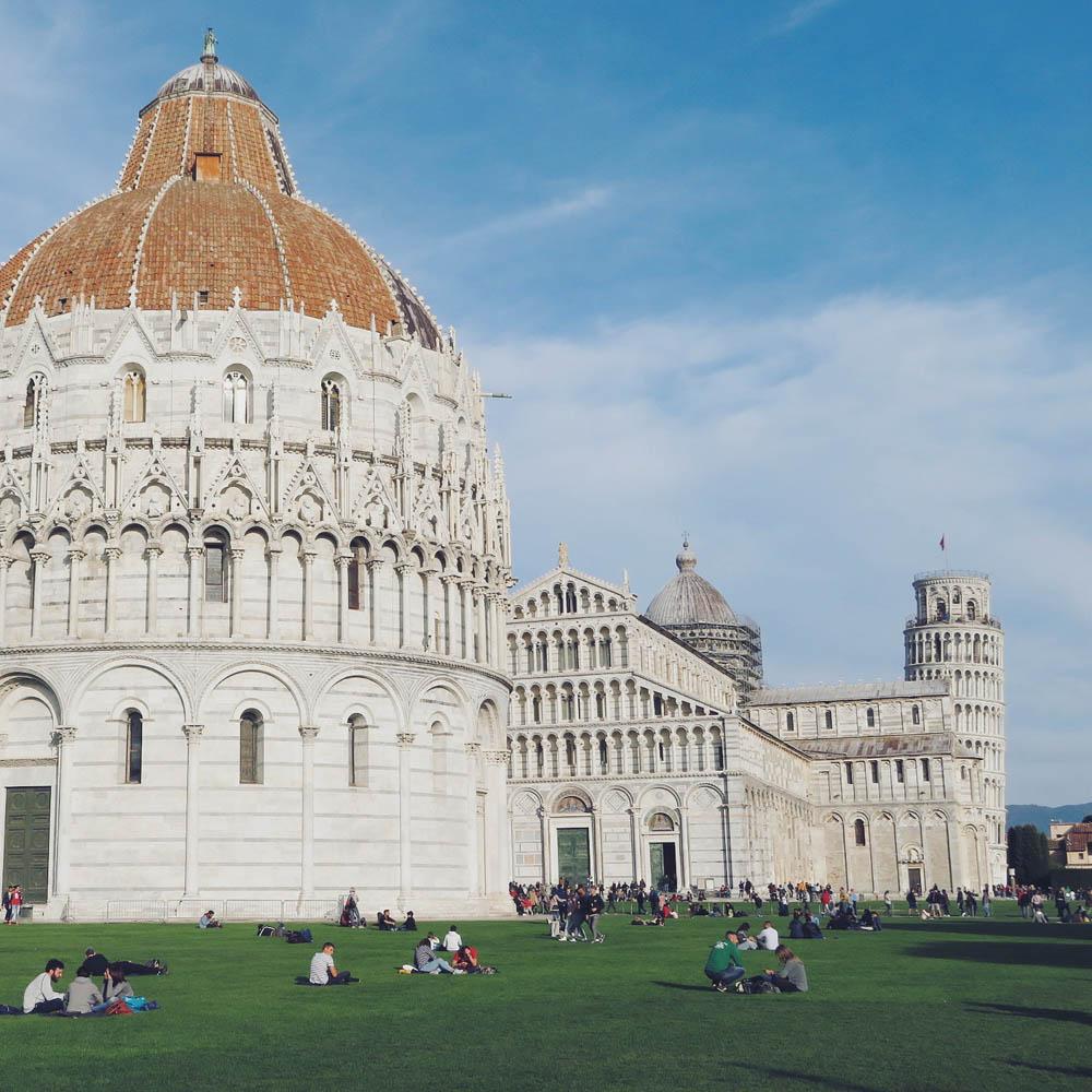 Pisa, Toscane, Italië - Map of Joy